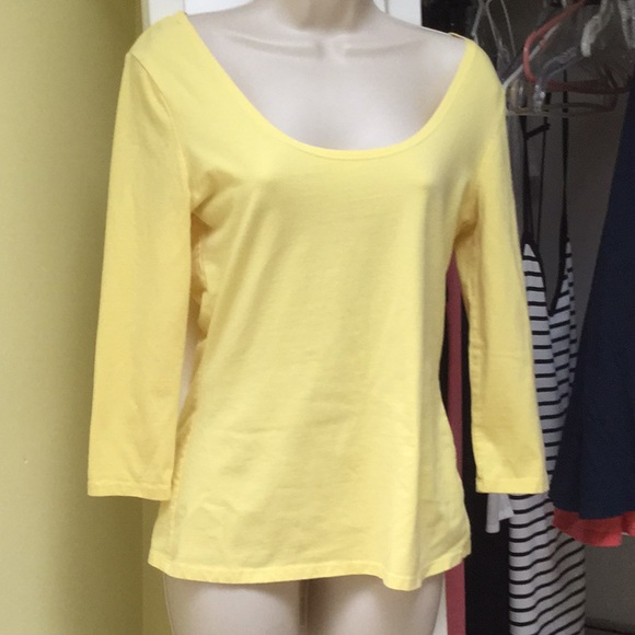 c08e6fee4b Boston Proper Tops | Reversible Neck Tee | Poshmark